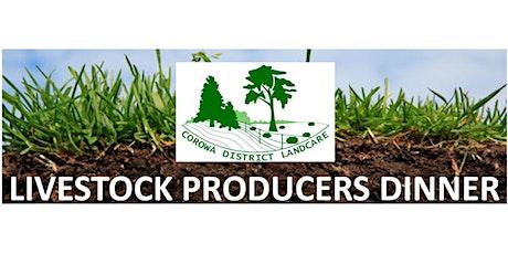 Livestock Producers Dinner - Urana, Oct 30th - Healthy Soils tickets