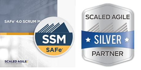SAFe Scrum Master 5.0 with SSM Certification - Online Class tickets