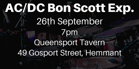 AC/DC Bon Scott Experience Tribute Band tickets
