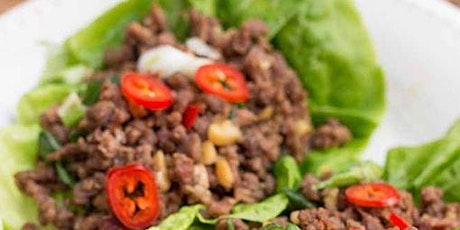 Cooking with Chef Tisha - Asian Inspired beef Lettuce Cups tickets