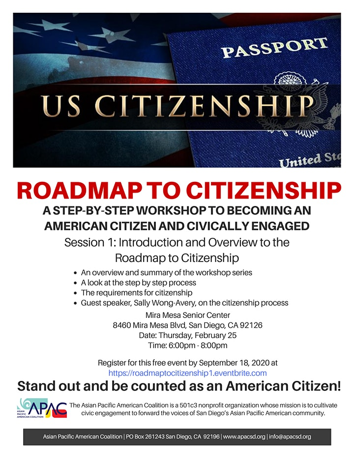 Roadmap to Citizenship: Session 1 - Introduction and Overview image