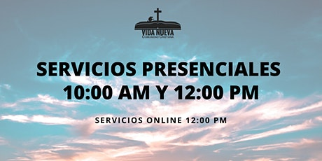 Servicio Presencial Domingo tickets