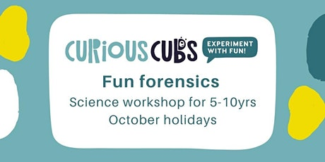 Fun forensics holiday workshop tickets