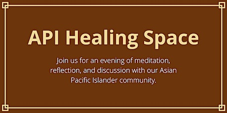 Healing space for our API Community: an evening of self-care tickets