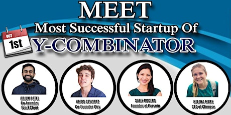 Meet Most Successful Startups OF Y-COMBINATOR - STAR INCUBATOR tickets
