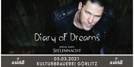 Diary Of Dreams - Hell in Eden 2021 Tickets