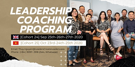 3-Day Intensive Leadership Coaching Program Cohort 24 tickets