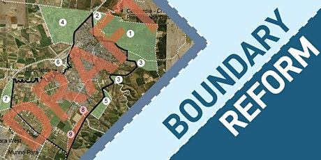 Boundary Reform Open Forum tickets