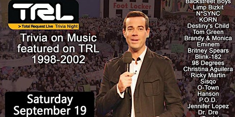 TRL Music Trivia Party tickets
