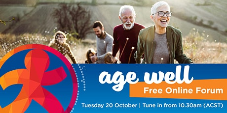 Age Well Online Forum 2020 tickets