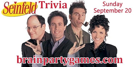 Seinfeld Online Trivia Party tickets