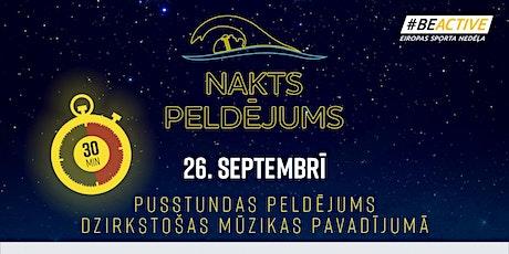 Nakts peldējums Siguldā tickets