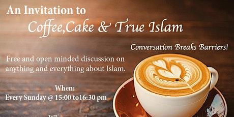 Virtual Coffee, Cake and Islam tickets