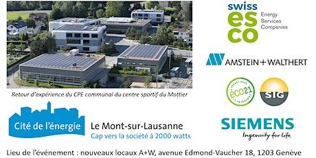 Contrat de Performance Énergétique, opportunités pour Communes et Fonds ? billets