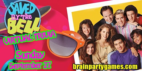 Saved by the Bell Online Trivia Party tickets