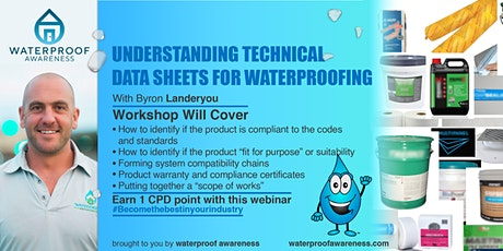 Understanding technical data sheets for waterproofing tickets