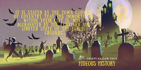 Hideous History Haunted Horror Tour tickets