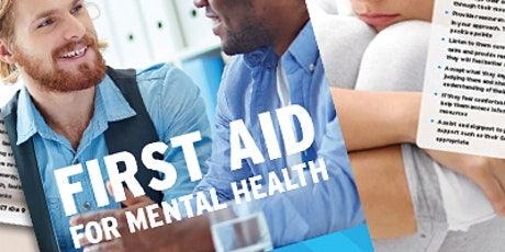 Supervising First Aid for Mental Health (Level 3 RQF) - 2 day tickets