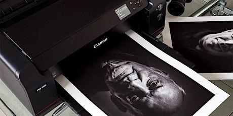 Workshop Foto's printen alsof je weer zelf in de Doka staat tickets