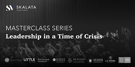 Masterclass Series: Leadership in a Time of Crisis tickets
