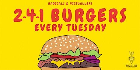 241 Burger Tuesdays tickets