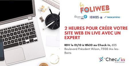 [Aix-les-Bains] 2 heures pour créer votre site web en live avec un expert billets