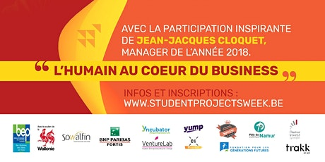 Student Projects Week NAMUR - 29/09 billets