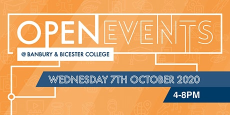Banbury and Bicester College Autumn Open Event tickets