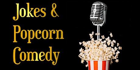 Jokes & Popcorn Comedy Tickets