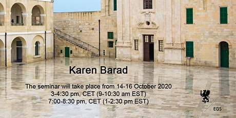 CANCELLED - Karen Barad tickets