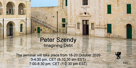 Imagining Debt - Peter Szendy tickets