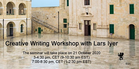 Creative Writing Workshop with Lars Iyer tickets