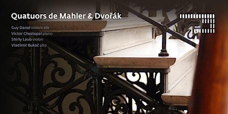 Quatuors de Mahler & Dvořák billets