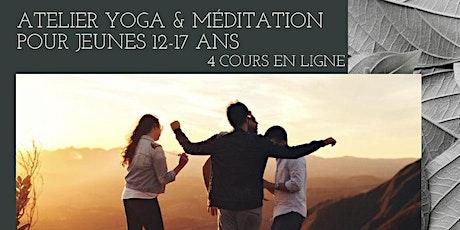 Atelier yoga pour jeunes ( adolescents) 12-17 ans billets