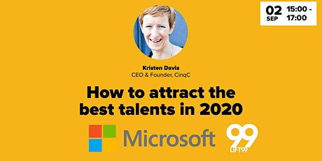 How to attract the best talents in 2020 tickets