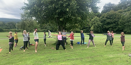 Outdoor Yoga Marlay Park Saturday mornings 10am September and October tickets