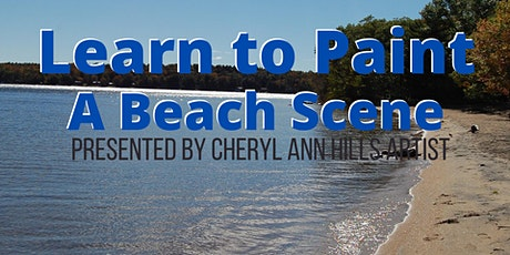 Learn to Paint a Beach Scene tickets