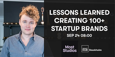 Lessons Learned Creating 100+ Startup Brands tickets