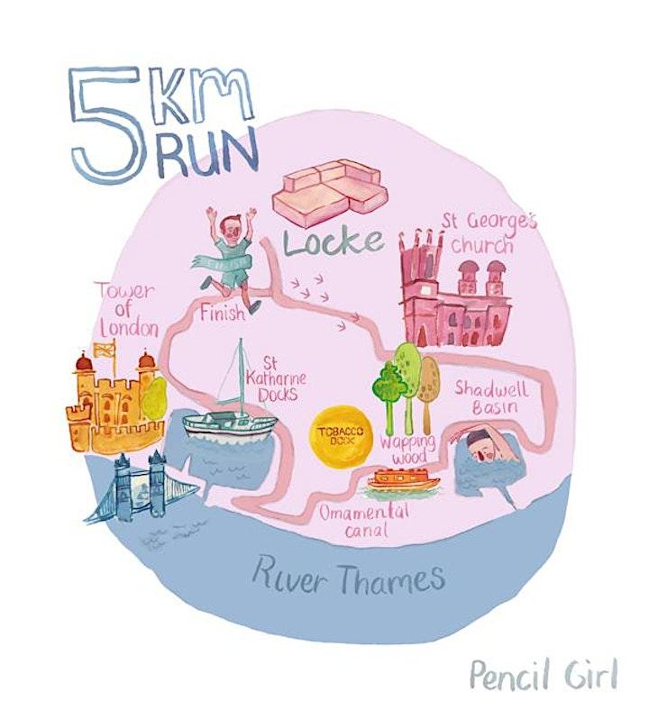 Leman Locke Running Club - the Re-launch image