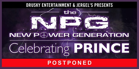POSTPONED - New Power Generation - Featuring the Music of Prince tickets