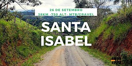 Rota Santa Isabel - 38 km - Intermediário + bilhetes