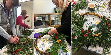 Christmas Willow Wreath workshops tickets