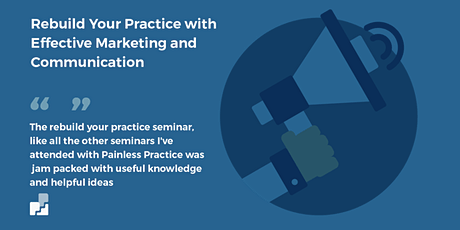 Grow your practice through effective marketing and communication tickets