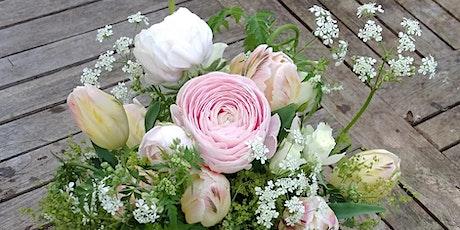 Spring Flower Posy Workshop at Mells Walled Garden tickets
