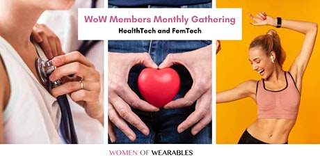 WoW members monthly gathering - HealthTech and FemTech tickets