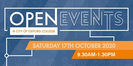 City of Oxford College Autumn Open Event tickets
