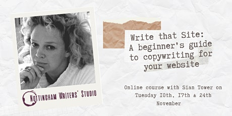 Write that Site: A beginner's guide to copywriting for your website tickets