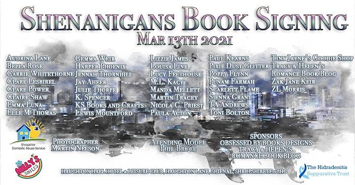 Shenanigans In Telford Book Signing image