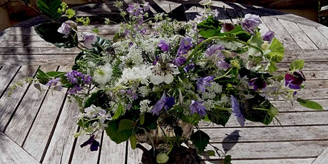 Summer Flower Posy Workshop at Mells walled Garden tickets