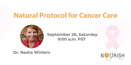 Natural Protocol for Cancer Care tickets